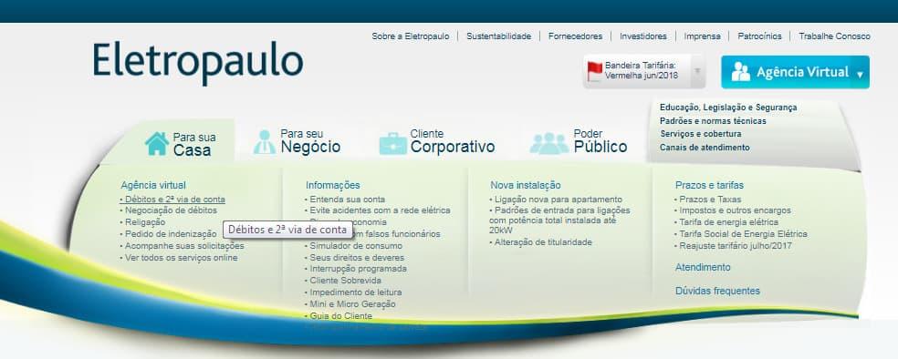 eletropaulo agencia virtuial