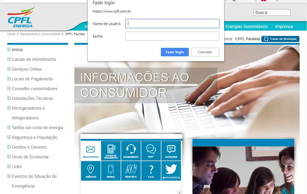 informacoes cpfl