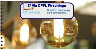2ª Via CPFL Piratininga
