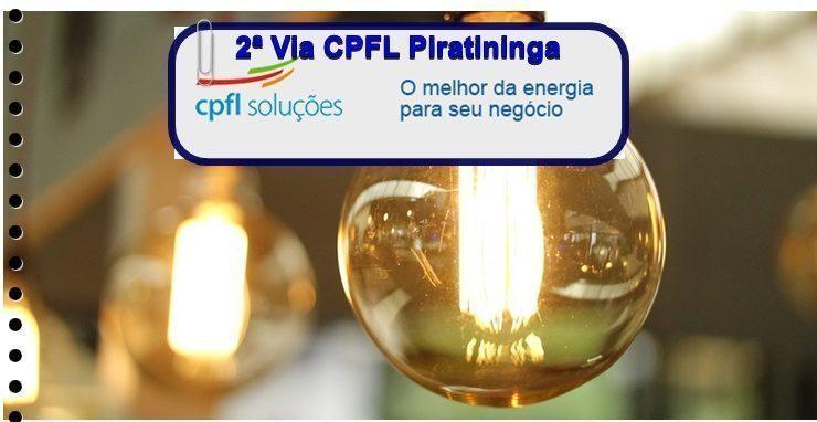 2ª Via CPFL Piratininga