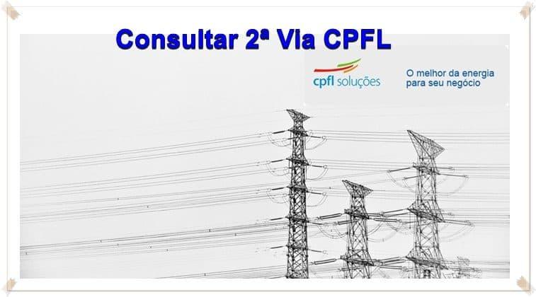 Como Consultar 2ª Via CPFL Hortolândia