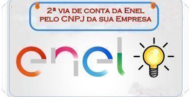 segunda via Enel empresa