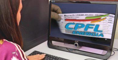 Fatura Conta de Luz CPFL