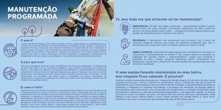 Falta de energia Equatorial Alagoas